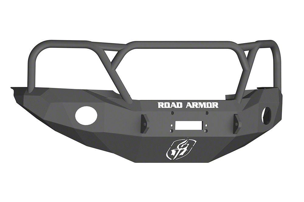 Road Armor Stealth Winch Front Bumper w/ Lonestar Guard - Satin Black (05-11 Tacoma)