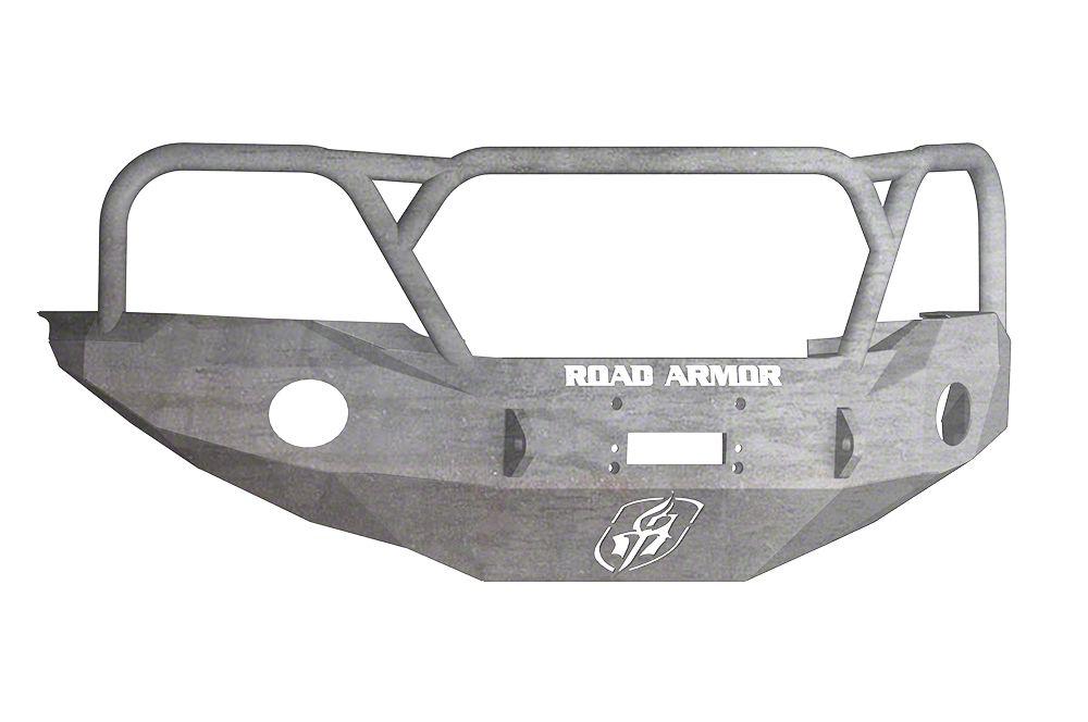Road Armor Stealth Winch Front Bumper w/ Lonestar Guard - Raw (05-11 Tacoma)