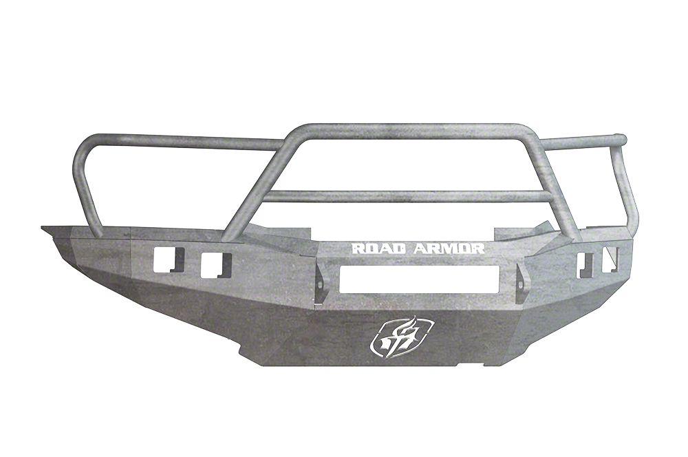 Road Armor Stealth Non-Winch Front Bumper w/ Lonestar Guard - Raw (12-15 Tacoma)