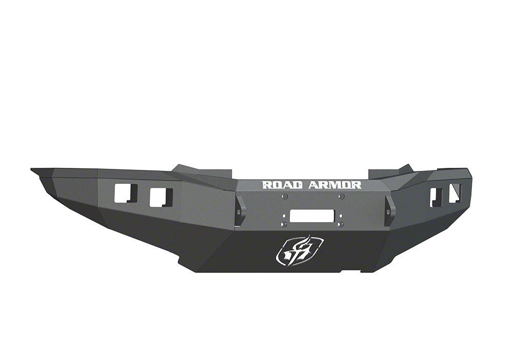 Road Armor Stealth Winch Front Bumper - Satin Black (12-15 Tacoma)
