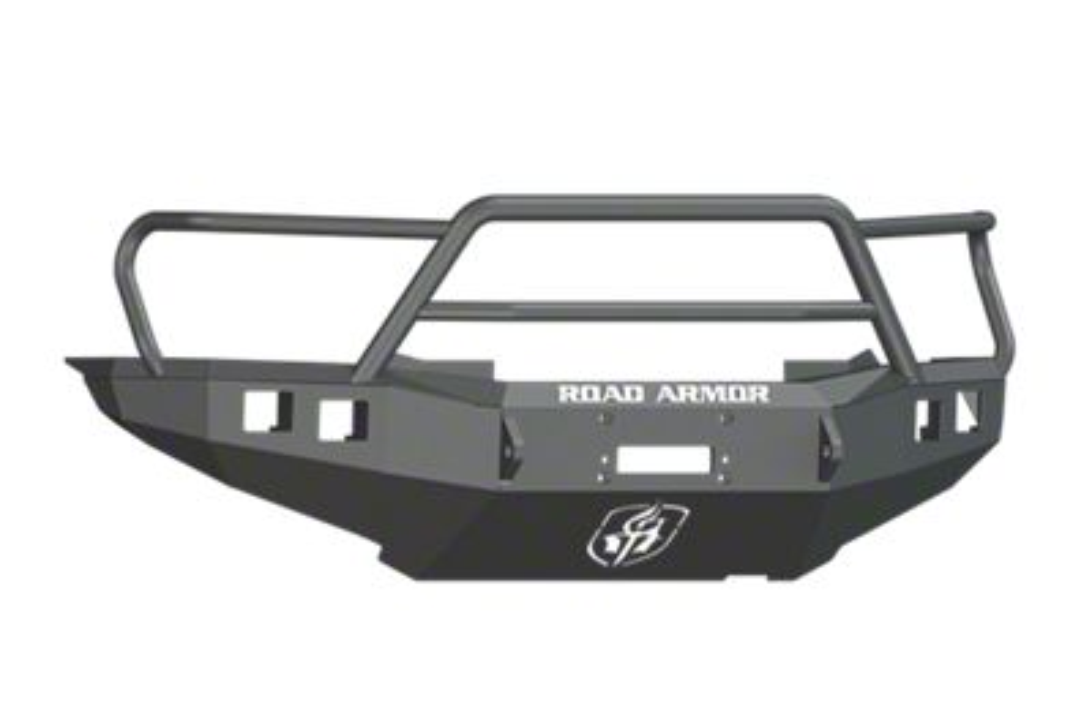 Road Armor Stealth Winch Front Bumper w/ Lonestar Guard - Satin Black (12-15 Tacoma)