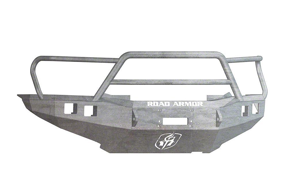 Road Armor Stealth Winch Front Bumper w/ Lonestar Guard - Raw (12-15 Tacoma)