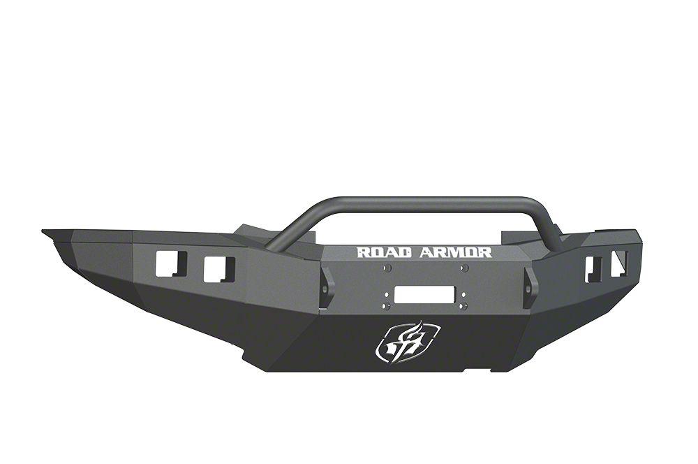 Road Armor Stealth Winch Front Bumper w/ Pre-Runner Guard - Satin Black (12-15 Tacoma)