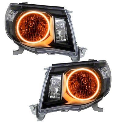 Oracle Black OE Style Headlights w/ LED Halos (05-11 Tacoma)