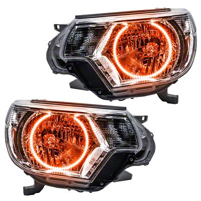 Oracle Chrome OE Style Headlights w/ LED Halos (12-15 Tacoma)