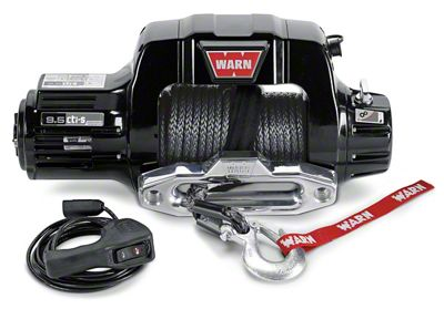 WARN 9.5CTI 9,500 lb. Winch w/ Synthetic Rope
