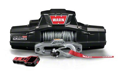 WARN ZEON 12-S Platinum 12,000 lb. Winch w/ Synthetic Rope