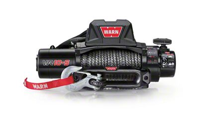 WARN VR10-S 10,000 lb. Winch w/ Synthetic Rope