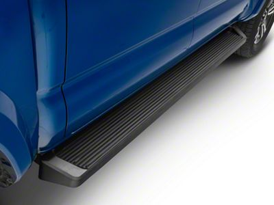 APS Auto 6 in. Running Boards - Black (05-19 Tacoma Double Cab)