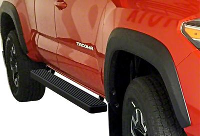 APS Auto 4 in. iStep Running Boards - Black (05-19 Tacoma Access Cab)