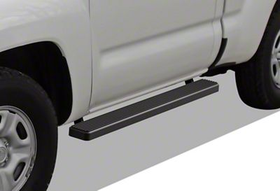APS Auto 5 in. iStep Running Boards - Black (05-14 Tacoma Regular Cab)