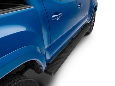 APS Auto 6 in. iStep Running Boards - Black (05-19 Tacoma Double Cab)