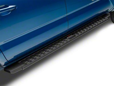 APS Auto T Style Running Boards - Black (05-19 Tacoma Double Cab)