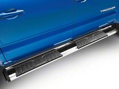 APS Auto OE Style Running Boards - Silver (05-19 Tacoma Double Cab)