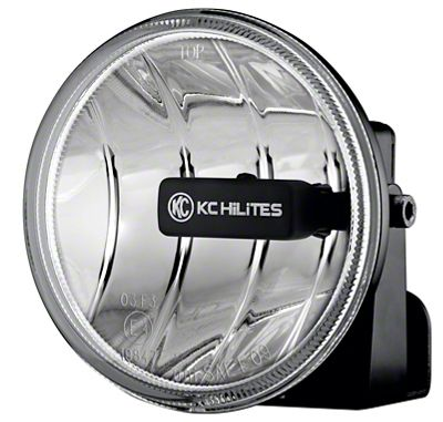 KC HiLiTES 4 in. Gravity G4 Clear LED Lights - Fog Beam - Pair