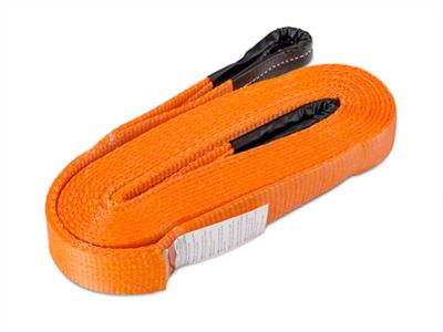 RedRock 4x4 2 in. x 30 ft. Premium Recovery Strap - 20,000 lb.