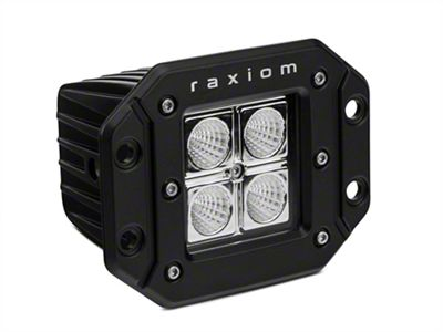 Raxiom 3 in. Flush Mount 4-LED Off Road Light - Flood Beam