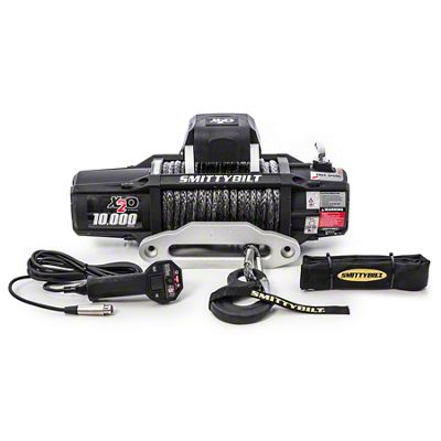Smittybilt Gen2 X2O 10,000 lb. Winch w/ Synthetic Rope & Wireless Control