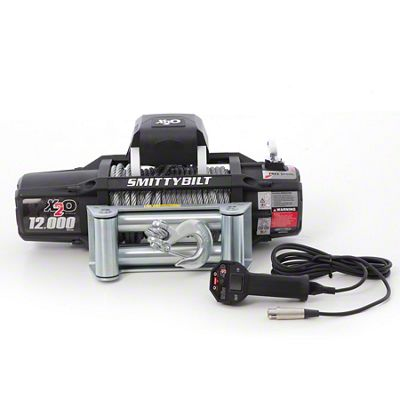 Smittybilt Gen2 X2O 12,000 lb. Winch w/ Wireless Control