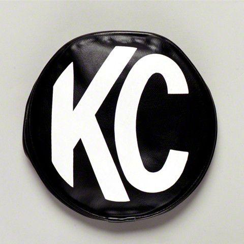 KC HiLiTES Black Vinyl Light Covers