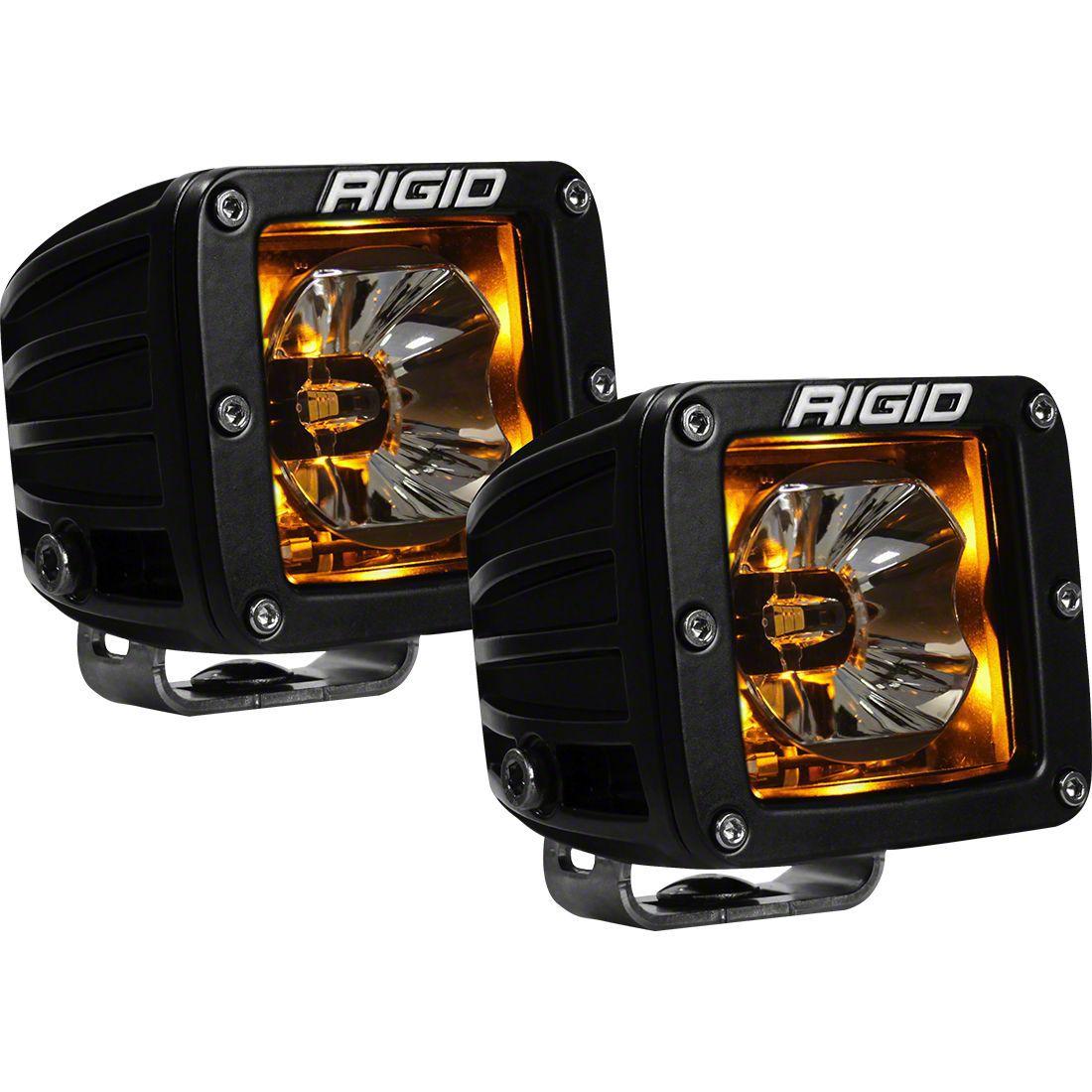 Rigid Industries D-Series Radiance LED Cube Lights w/ Flood/Spot Combo