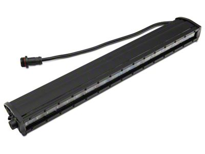 Rough Country 20 in. Black Series Single Row LED Light Bar - Spot Beam