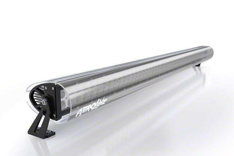 AeroX 22 in. Dual Row Straight LED Light Bar Silencer Cover - Smoked