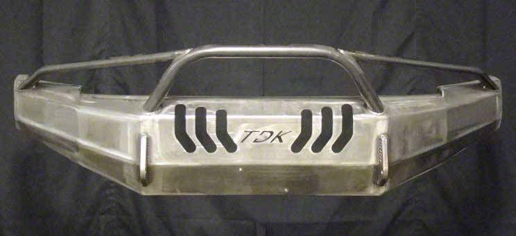Throttle Down Kustoms Pre-Runner Front Bumper - Bare Metal (05-11 Tacoma)