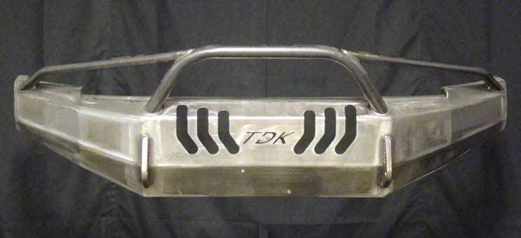 Throttle Down Kustoms Pre-Runner Front Bumper - Bare Metal (12-15 Tacoma)