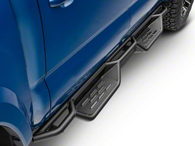 RedRock 4x4 HD Drop Side Step Bars (05-19 Tacoma Double Cab)