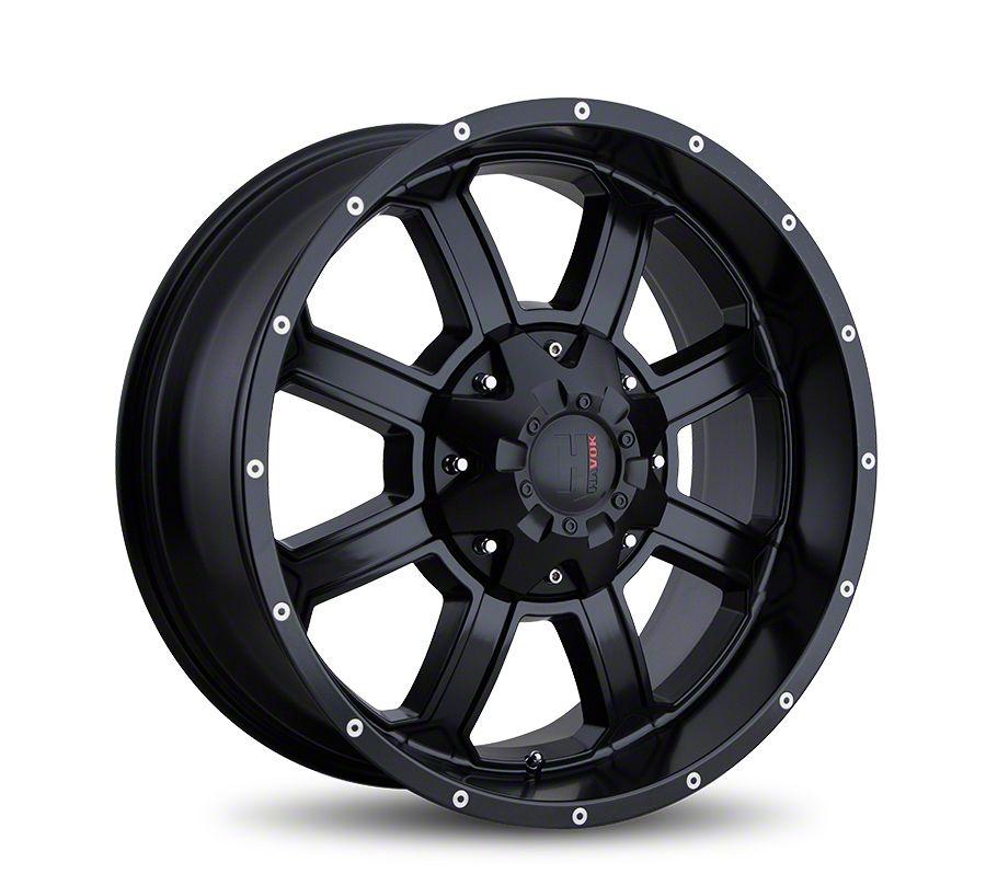 Havok Off-Road H101 Matte Black 6-Lug Wheel - 18x9 (05-19 Tacoma)