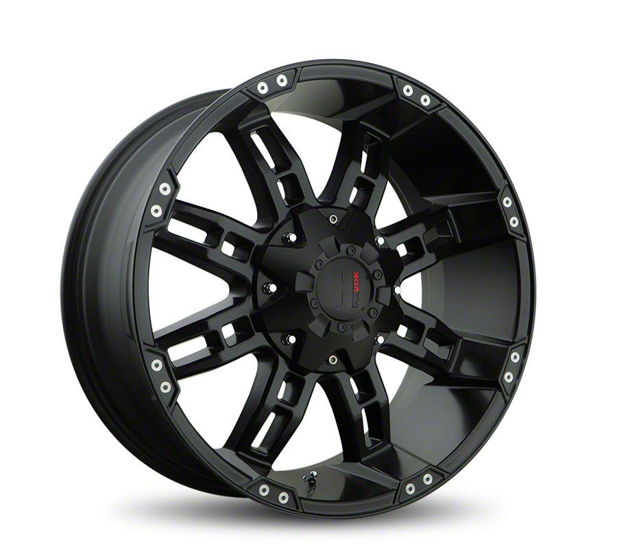 Havok Off-Road H103 Matte Black 6-Lug Wheel - 18x9 (05-19 Tacoma)