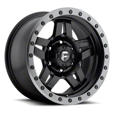 Fuel Wheels Anza Matte Black w/ Anthracite Ring 6-Lug Wheel - 17x8.5 (05-19 Tacoma)