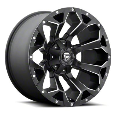 Fuel Wheels Assault Black Milled 6-Lug Wheel - 20x9 (05-19 Tacoma)