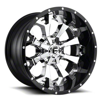 Fuel Wheels Assault Chrome 6-Lug Wheel - 20x10 (05-19 Tacoma)