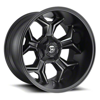 Fuel Wheels Avenger Black Machined w/ Dark Tint 6-Lug Wheel - 20x10 (05-19 Tacoma)