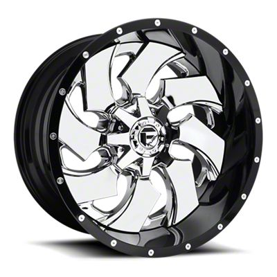 Fuel Wheels Cleaver Chrome 6-Lug Wheel - 20x10 (05-19 Tacoma)