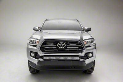 ZRoadz 6 in. & 10 in. LED Light Bars w/ Behind Grille Mounting Brackets (18-19 Tacoma, Excluding TRD)
