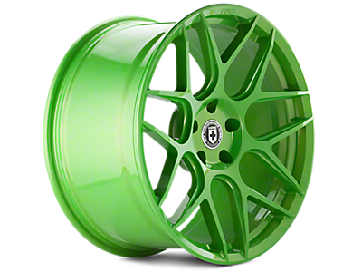 Tequila Lime HRE Flowform FF01 Wheels 2005-2009