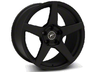 Textured Black Forgestar CF5 Wheels<br />('99-'04 Mustang)