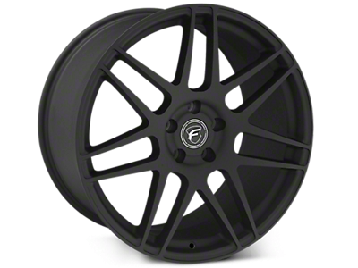 Textured Black Forgestar F14 Wheels<br />('15-'20 Mustang)