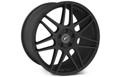 Textured Black Forgestar F14 Wheels 2005-2009