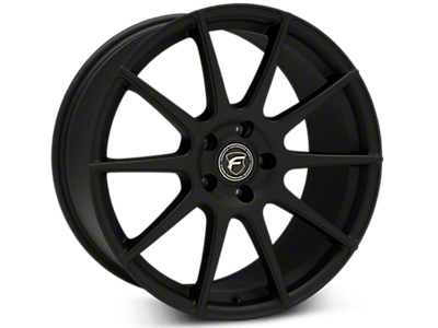 Textured Matte Black Forgestar CF10 Wheels<br />('15-'20 Mustang)
