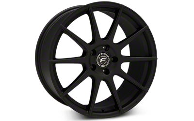 Textured Matte Black Forgestar CF10 Wheels 2005-2009