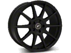 Textured Matte Black Forgestar CF10 Wheels<br />('15-'21 Mustang)