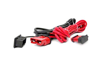 Rough Country Quick Disconnect Winch Power Cable - 24 ft.