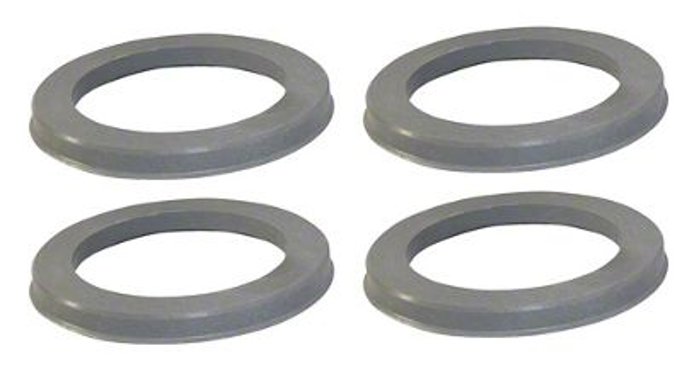 Coyote 74mm/63.40mm Hub Rings (07-19 Sierra 1500)