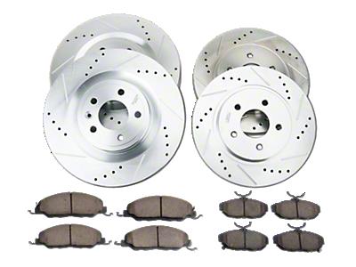 Mustang Brake Rotor & Pad Kits 2010-2014