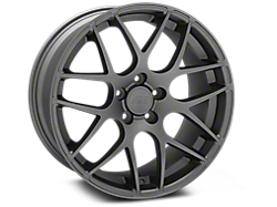 Charcoal AMR Wheels<br />('10-'14 Mustang)