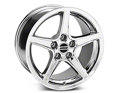 Chrome Saleen Style Wheels<br />('05-'09 Mustang)